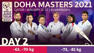 Day 2 - commentated: Doha World Judo Masters 2021