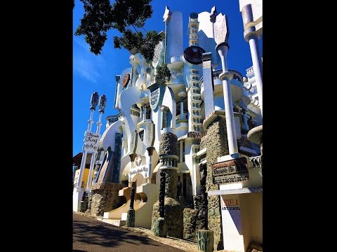 UFOs! Aliens Exist! Castillo Mundo King Art Museum Sosua, Dominican Republic Haitian Sculptures