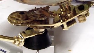 CNC Router milling brass gear