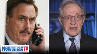 Dershowitz on Dominion VS Lindell, Newsmax VS cancel culture