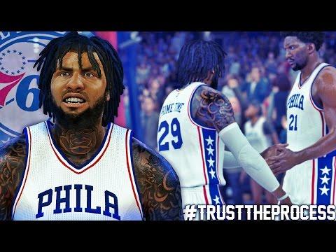 NBA 2K17 MyCAREER SH - #TrustTheProcess | Exposing Curry & McGee!!!