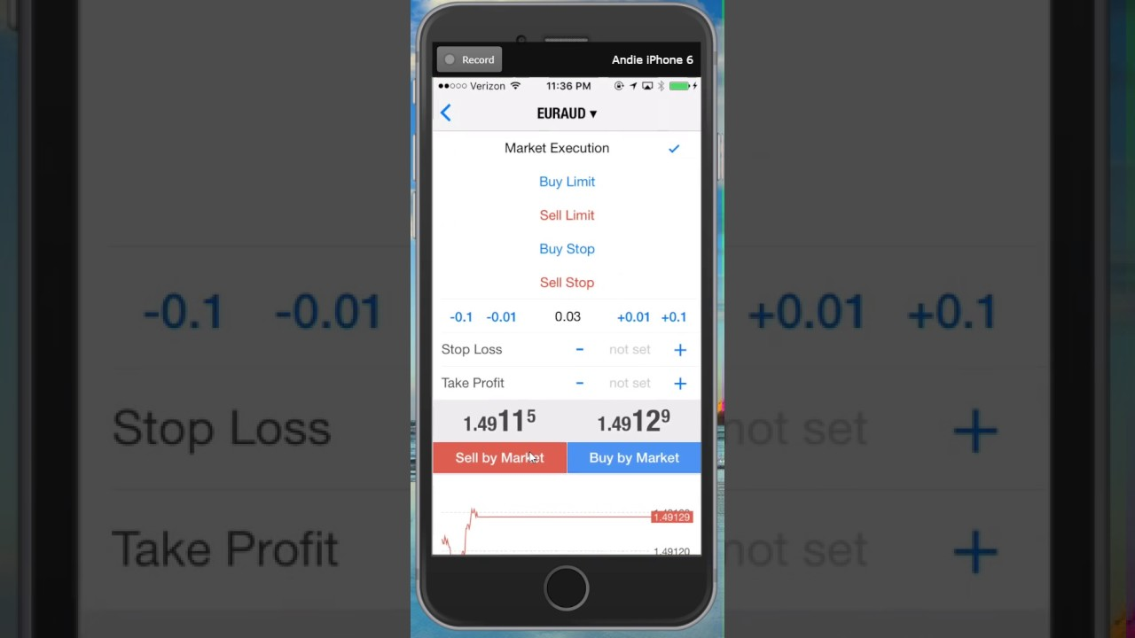 iMarketsLive IML - How to Use the Swipe Trade App (COPY AND PASTE!)