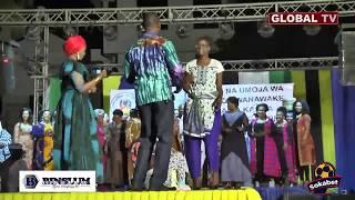 Naibu Spika TULIA Akiimba SUBALKHERI ya ASLAY na NANDY