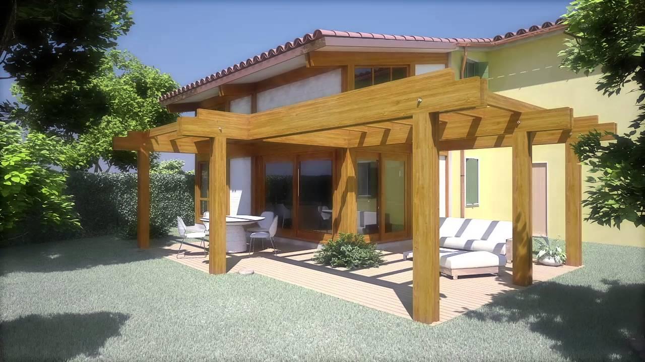 veranda in legno prove di animazione 3d youtube