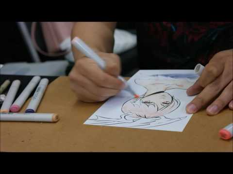 Long Vo Sketch - Silicon Valley Comic Con SVCC 2017