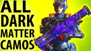 BLACK OPS 3 DARK MATTER CAMO - ALL WEAPONS!