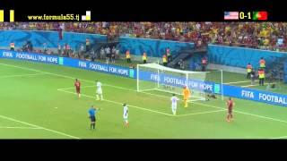 Португалия Vs США . Обзор матча. Чемпионат мира 2014