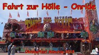 Fahrt zur Hölle (Dom-Jollberg) - Onride - Oktoberfest München 2018