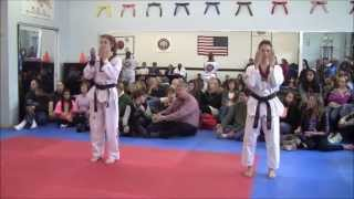 Jane Dillon 4th Dan Black Belt Test