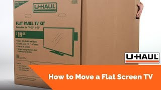 How to Move a Flat Screen TV