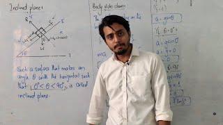 Inclined plane    Explaฑation    Class 11 physics    Urdu/Hindi