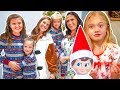 GIRLS ONLY PAJAMA PARTY at EVERLEIGH'S CHRISTMAS PARTY! + Elf on Shelf Secret Photos!!!