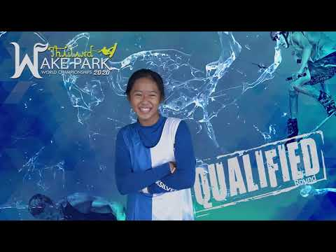 Lalada Liew - Girls Under 13 yo Wakeboard