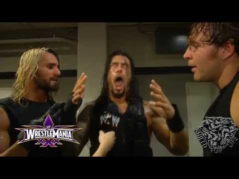 The Shield Funny Segment After Wrestlemania