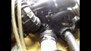 seadoo gtr 215 comportement moteur dans cale effet sur bague carbone et tampon d'ancrage
