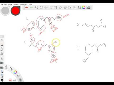 Functional Group Practice