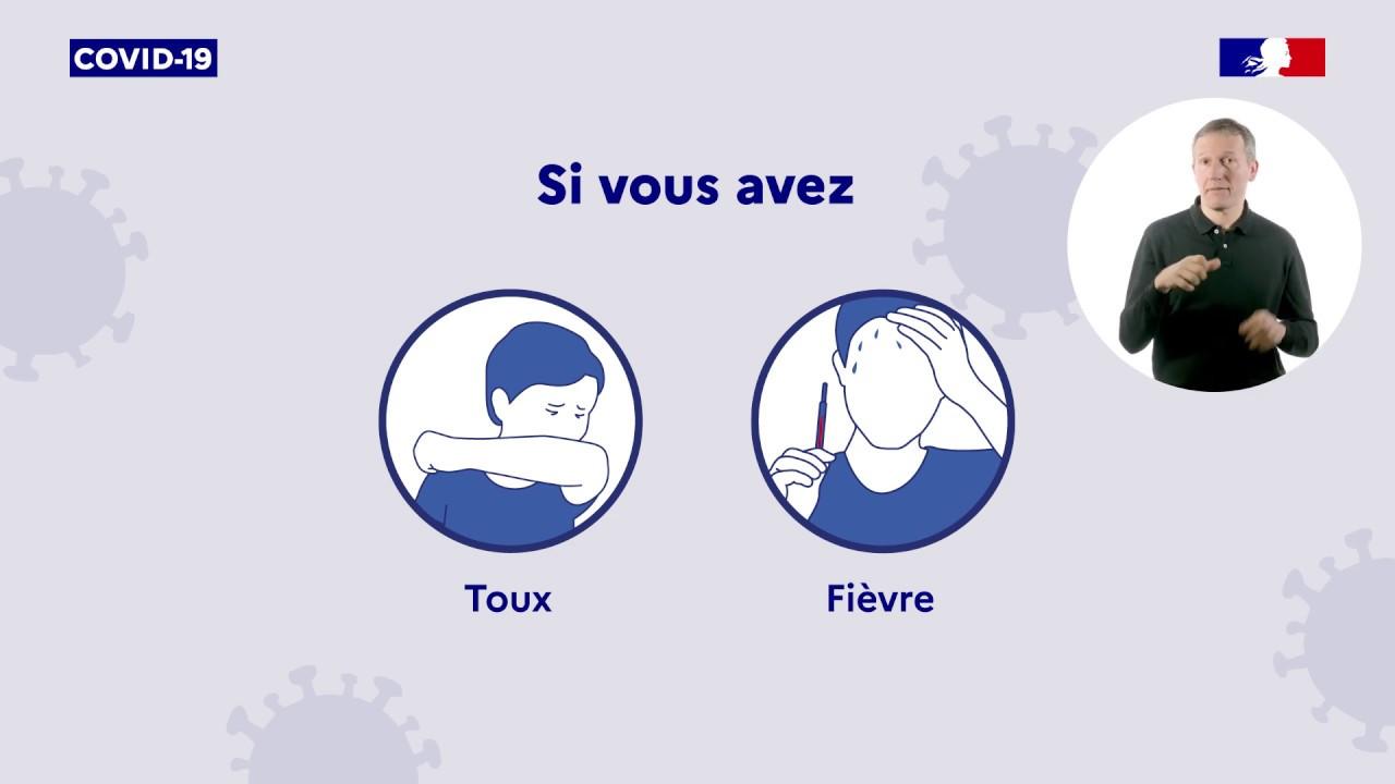 COVID-19 | Que faire en cas de symptômes ? | Gouvernement