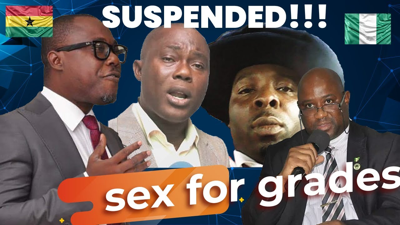 Download Sex for Grades: Suspended lecturers