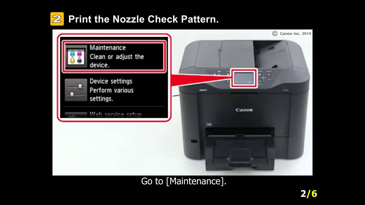 Maxify Mb2320 Uneven Printing Faint Printing Youtube