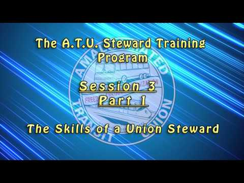 Introductory Shop Stewards Videos - Session 3 / Part 1