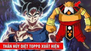 Hé lộ thông tin tập 123, 124, 125 trong Dragon Ball Super : Thần hủy diệt Toppo xuất hiện