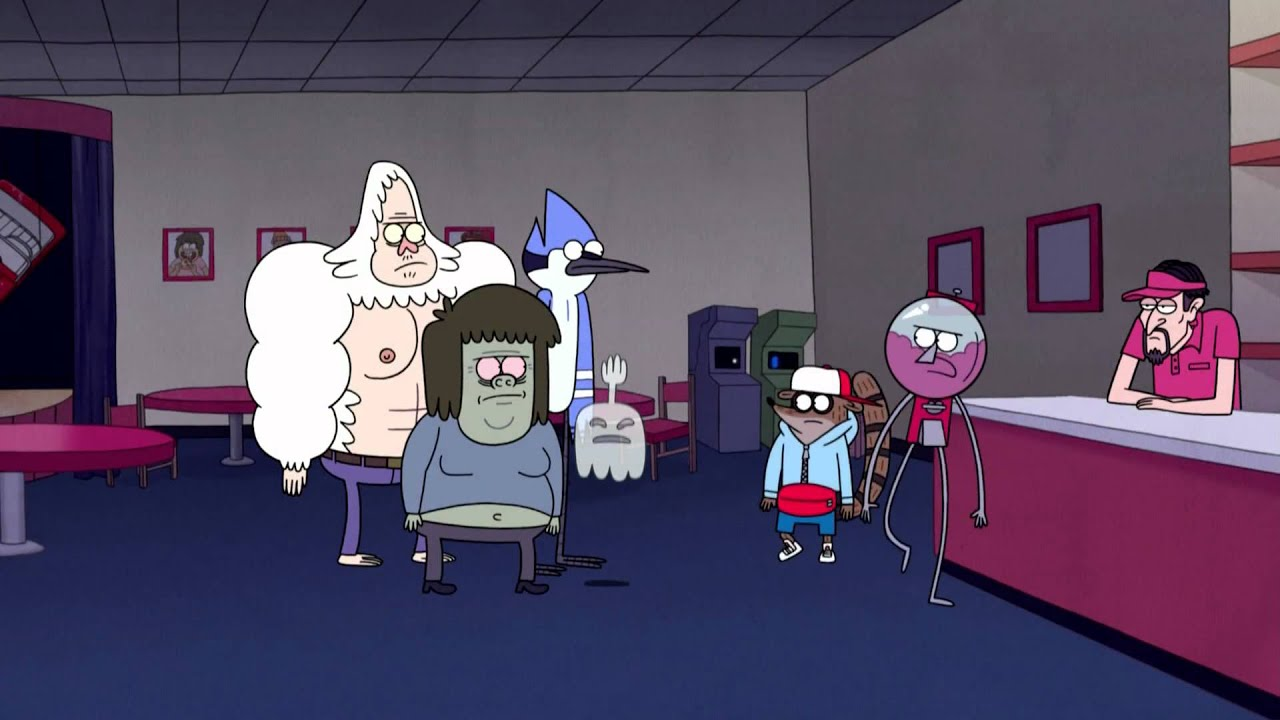 regular show fuzzy dice long preview youtube