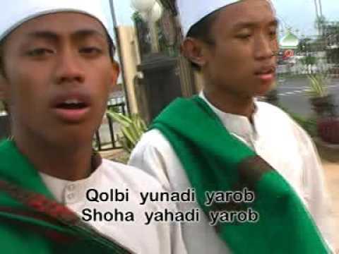 Qolbi Yunadi قَلْبِىْ يُنَادِيْ يَارَبّ | Al Muqtashidah With Lyric