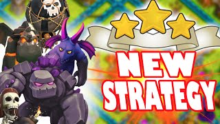 """Clash of Clans - BEST NEW CLAN WAR STRATEGY! """"SHATTERED LAVALOONION"""" New 3 Star Attack Strategy!"""