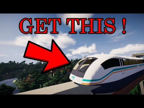 How To Install Minecraft Maglev Train