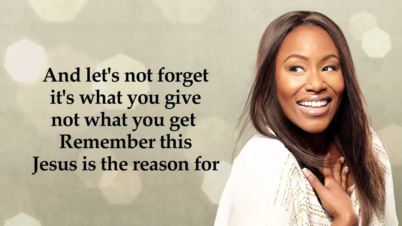 Mandisa - It\'s Christmas (Official Lyric Video) - YouTube