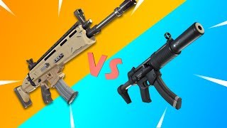 Siegebreaker VS Silenced Specter | Fortnite Legendary Weapon Royale