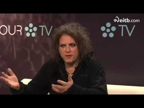 Robert Smith Bilbao BBK Live Festival (Spain) Interview 2012