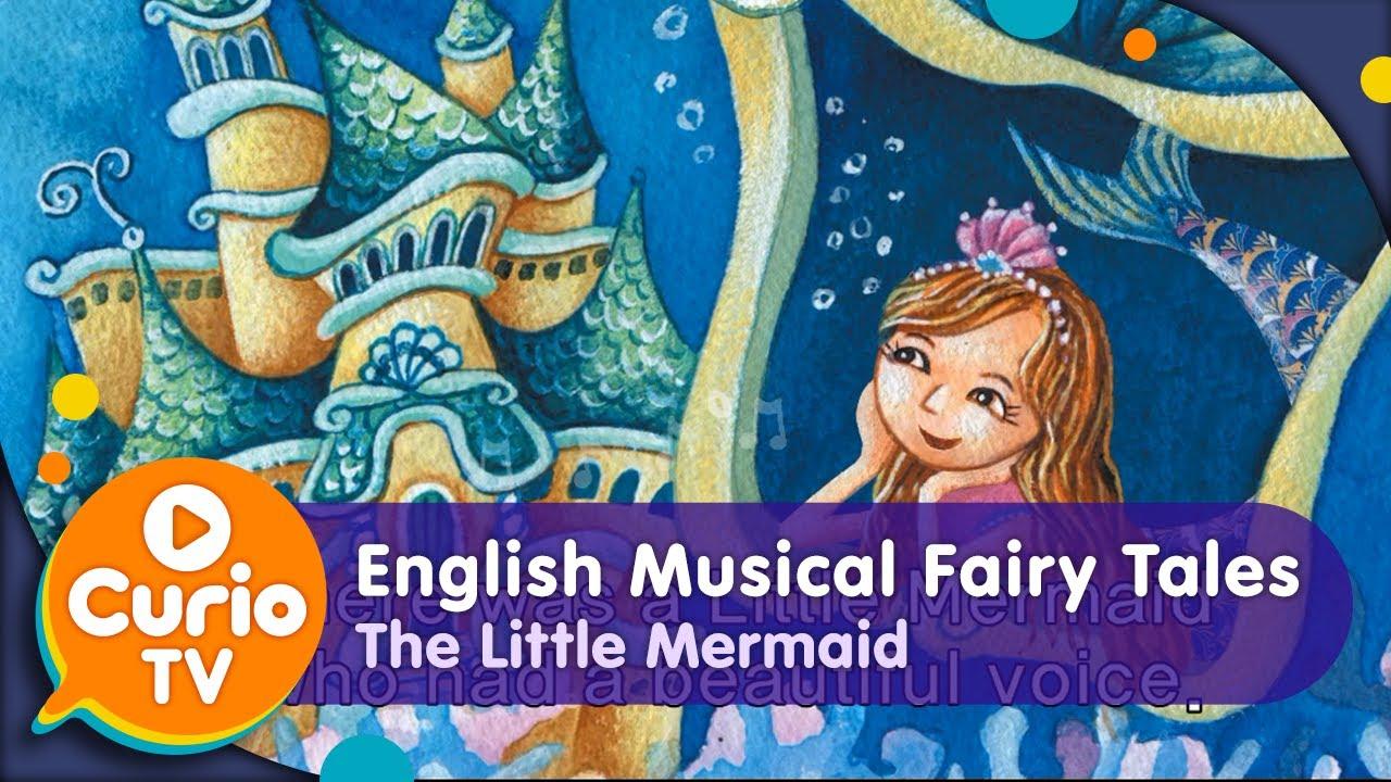 아들과딸북클럽 | The Little Mermaid(인어공주) - English Musical Fairy Tales [Kids TV OZ]