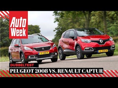 Peugeot 2008 Vs Renault Captur - AutoWeek Dubbeltest