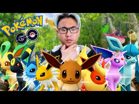 HOW TO GET EVERY EEVEELUTION IN POKEMON GO (2019)
