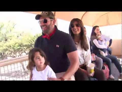 De Paseo con Eduardo Santamarina y su familia