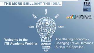 ITB Academy Webinar - The Sharing Economy thumbnail
