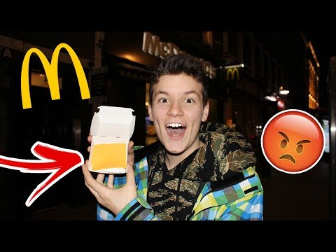 ORDERING A SLICE OF CHEESE AT MCDONALDS *GOT KICKED OUT*