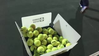 Tennis Tutor Player Plus Ball Machine Hands on Review-Partner to play?