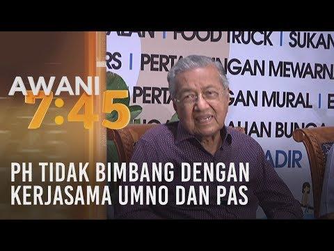 PH tidak bimbang dengan kerjasama UMNO dan Pas