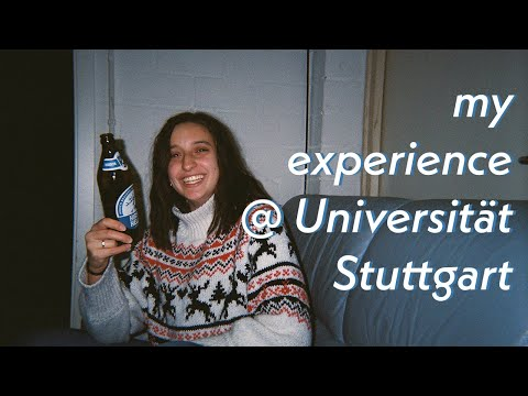 my experience as an exchange student @ Universität Stuttgart | from application to exmatriculation