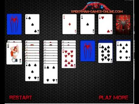 spiderman solitaire