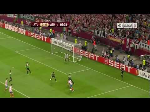 Atletico Madrid 3 - 0 Athletic Bilbao.. (-Maçın Özeti-) 09.05.2012