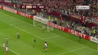 Falcao - Atletico Madrid 3 - 0 Athletic Bilbao GOALS 09.05.2012