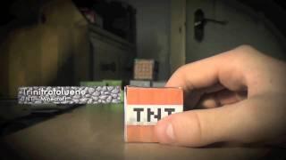 Minecraft - TNT IRL (Papercraft - 1.6 TNT)