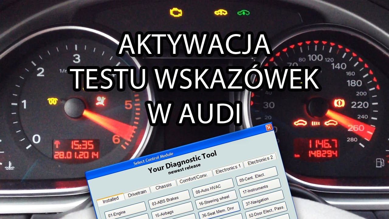 jak aktywowa test wskaz wek w audi vcds vas vag com. Black Bedroom Furniture Sets. Home Design Ideas
