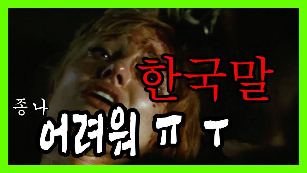 믿고싶지 않은ㅋㅋ 혼돈의 해외영화 속 한국말 Top 20