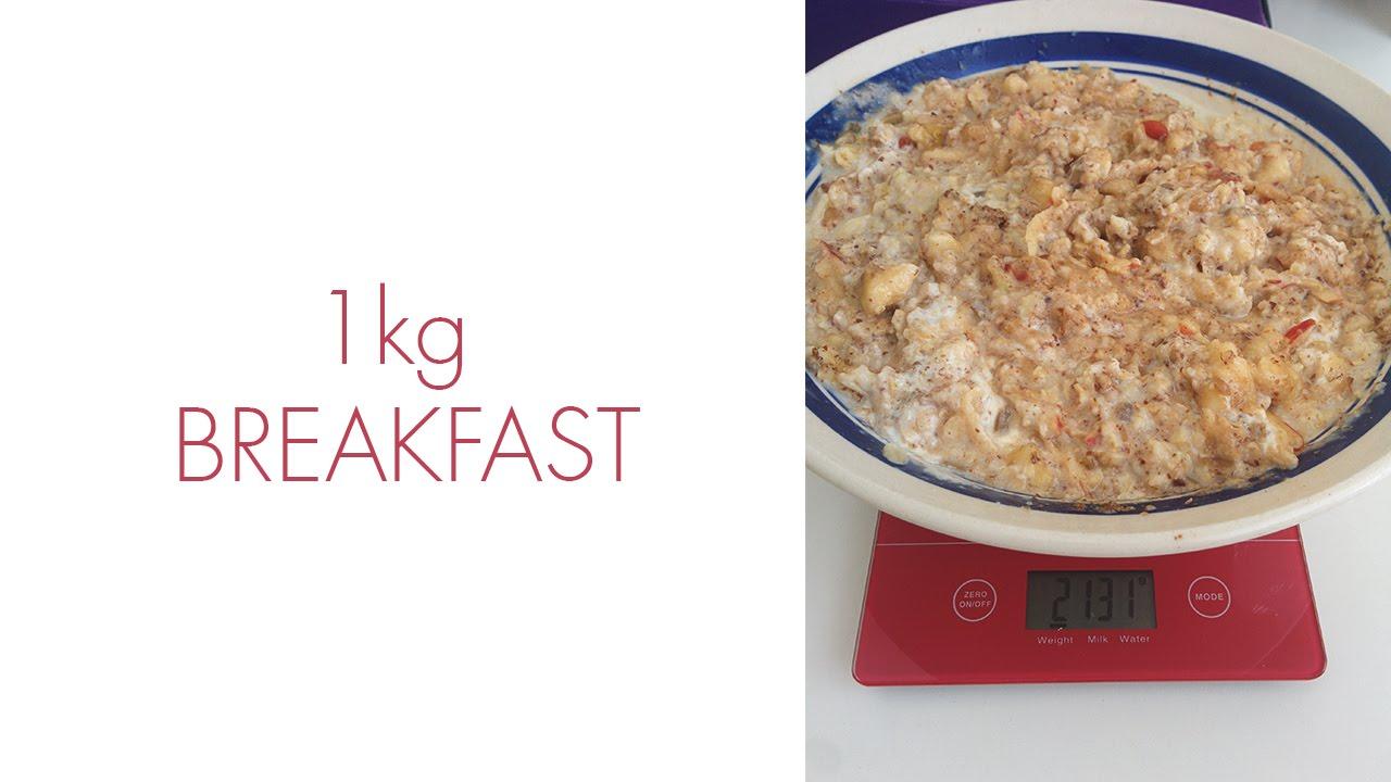 1kg breakfast, every morning 12.4.16 COMMENTARY