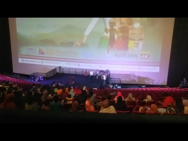 Pukul Gong launch Perdana GalaPremier Film Dongeng Musical Keongemas TMII