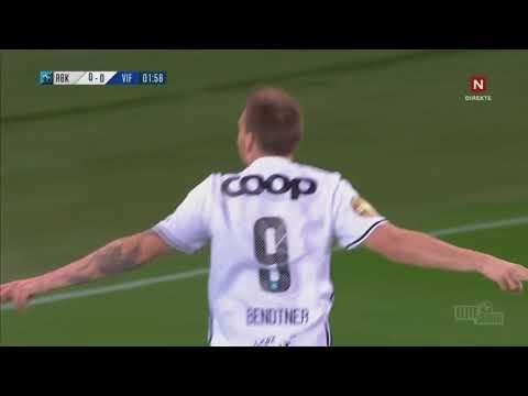 Bendtner scores again [1-0] Rosenborg - Vålerenga